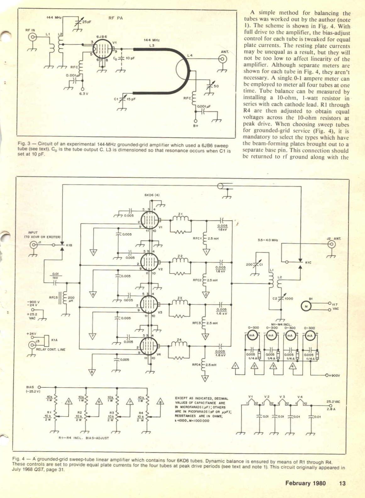 sweep3c  Tube Radio Schematic on